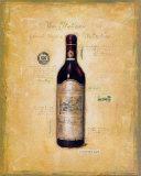 Italienische Weine Poster von G.p. Mepas
