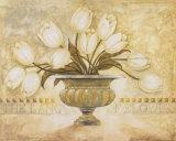 Yearning Flowers II Prints by Herve Libaud