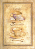 Coffee Cups and Spoons Prints by Herve Libaud