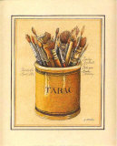 Pinceaux Affiches par Laurence David