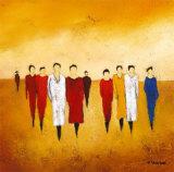 Together I Poster von Anouska Vaskebova