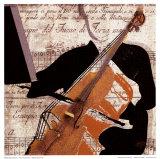 Einzelner Musiker Kunstdrucke von  Troy