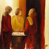 Meeting Place II Prints by Jettie Rosenboom