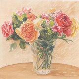 Autour D'Un Bouquet 2 Posters par Laurence David