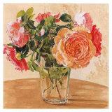 Autour D'Un Bouquet 1 Affiche par Laurence David