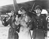 Errol Flynn, David Niven, Basil Rathbone Photo