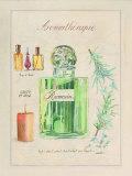 Aromatherapie, Romarin Posters par Laurence David