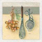 Dans la Cuisine, le Fouet Poster par Laurence David