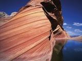 Water at Coyote Buttes Fotografisk trykk av Jim Zuckerman