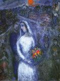Le couple Poster par Marc Chagall