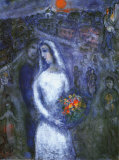 Le Couple Poster af Marc Chagall