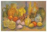 Mediterranean Kitchen II Art by Karel Burrows