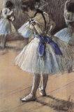 Ballerina Plakat av Edgar Degas