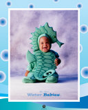 Baby SeaHorse Lámina por Tom Arma