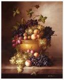 Bordeaux Fruit Affiches par M. Francie