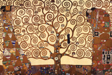 Elämän puu Julisteet tekijänä Gustav Klimt