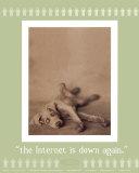Internet is Down Again Print van Rachael Hale