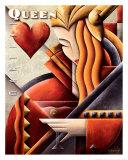 Martini Queen Posters av Michael L. Kungl