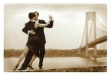 Tango on Verrazano Bridge Posters por Igor Maloratsky