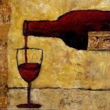 Rotwein Poster von Judi Bagnato