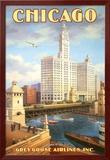 シカゴ ポスター : カーン・エリクソン