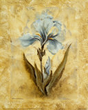 Blue Blooms III Prints by Richard Henson