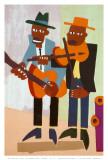 Street Musicians Pôsters por William H. Johnson