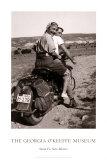 O'Keeffe yendo de paseo Láminas por Maria Chabot