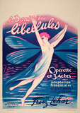La Danse des Libellules (c.1926) Impressão colecionável por Georges Dola