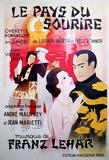 Le Pays du Sourire (c.1929) Impressão colecionável por Georges Dola