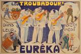 Eureka les Troubadours (c. 1905) Premium-Edition von  Finot
