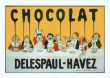 Chocolat Delespaul Havez Plakat