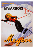 Megeve Poster