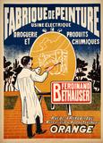 Fabrique de Peinture (c.1925) Impressão colecionável