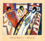 Tablita Three I Prints by Dolona Roberts