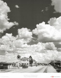 Route 66, Arizona, 1947 Plakater af Andreas Feininger