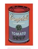 キャンベルスープ缶(青、紫) 1965年 (Campbell's Soup Can) ポスター : アンディ・ウォーホル