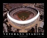 Veterans Stadium - Philadelphia, Pennsylvania (Baseball) Prints by Mike Smith