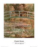 El estanque de los nenúfares Póster por Claude Monet