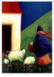 The Caretaker Reproduction pour collectionneur par Carol Ann Shelton