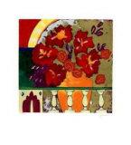 Firecracker Floral I Reproduction pour collectionneur par Elizabeth Jardine
