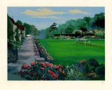 Lawn Tennis Collectable Print by Mark King