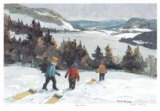 Long View Collectable Print by Joyce Kellock