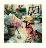 Orchid Collectable Print by Susan Rios