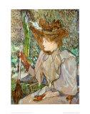 Mme. Honorine P. Láminas por Henri de Toulouse-Lautrec
