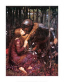 Belle Dame Sans Merci Poster von John William Waterhouse