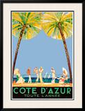 Cote D'Azur Prints by Jean-Gabriel Domergue