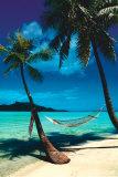 Playas tranquilas Lámina