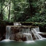 Waterfall Thailand Lámina fotográfica