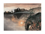 Poetic Li River No. 17 Giclee Print by Zishen Zhang